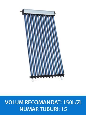 colector solar 15 tuburi heatpipe