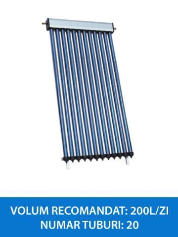 colector solar 20 tuburi heatpipe