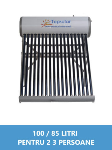 panou solar nepresurizat 100 85 litri